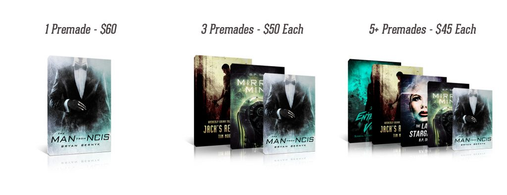 Premade Book Cover Prices