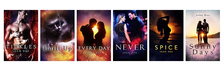 Premade Romance Book Covers