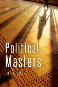 political thriller book cover