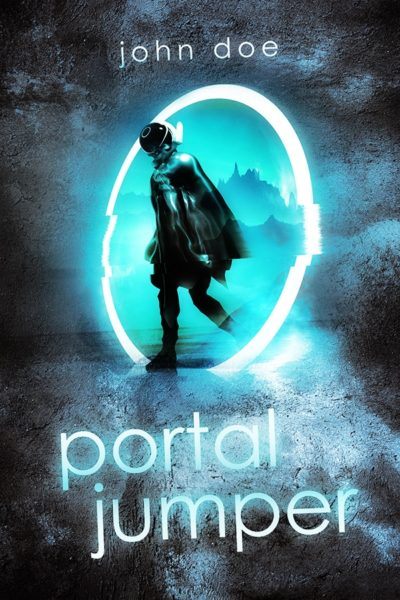 premade scifi book cover