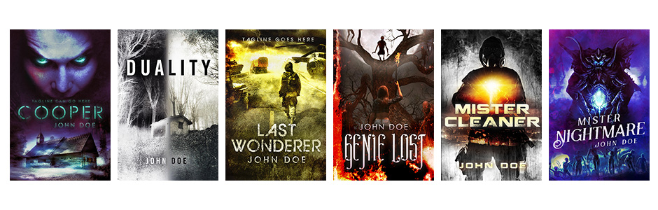 paranormal premade book covers