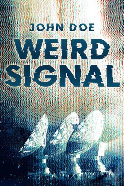 techno thriller premade book cover