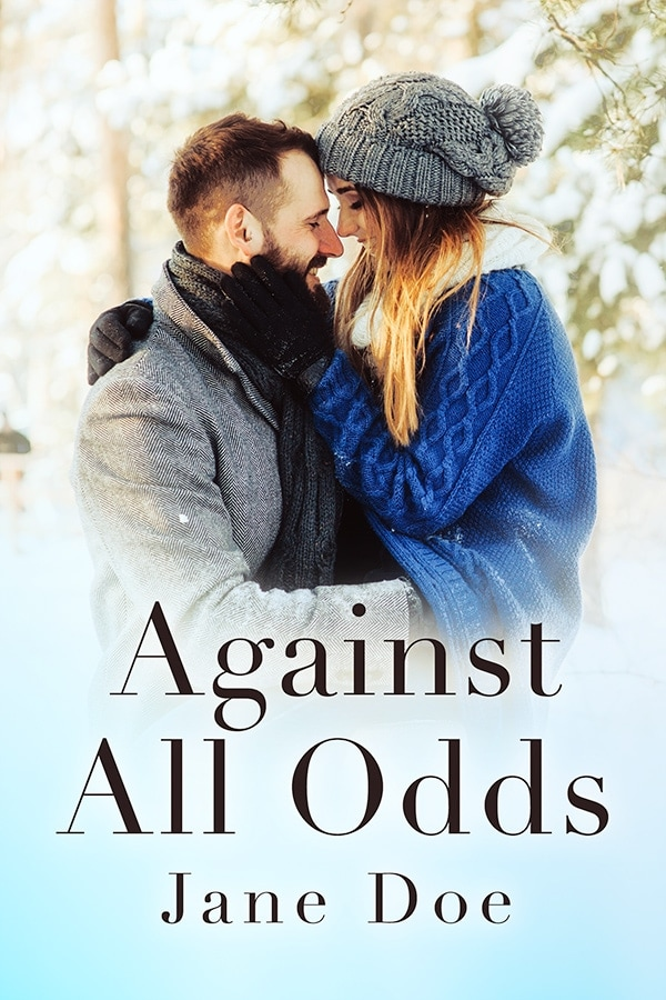 winter romance book cover