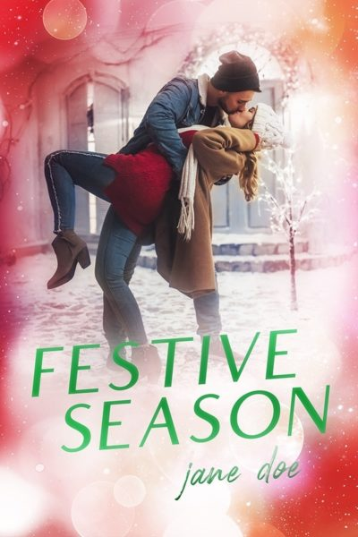 christmas romance book cover