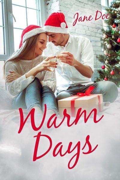 christmas premade book cover