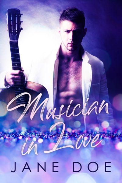 romance book cover musician