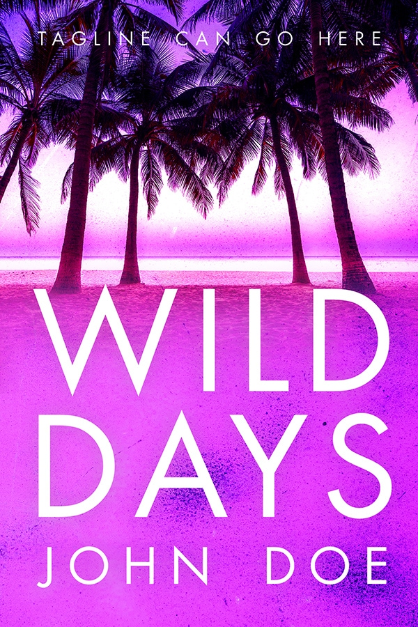 mystery premade book cover tropical