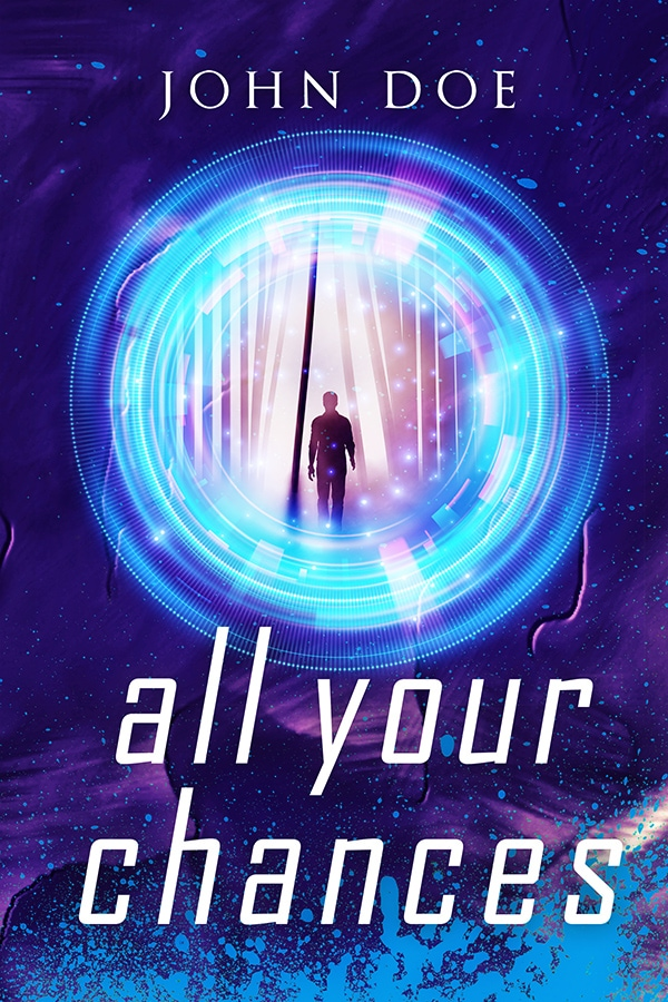 scifi premade book cover