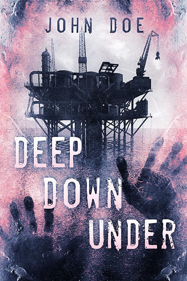 premade book cover oil rig
