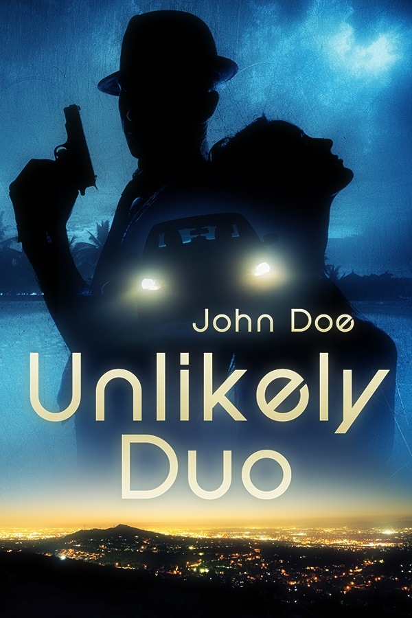 detective premade book cover