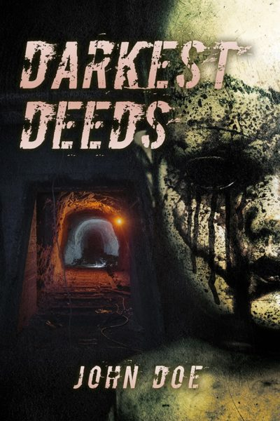 horror premade book cover for sale