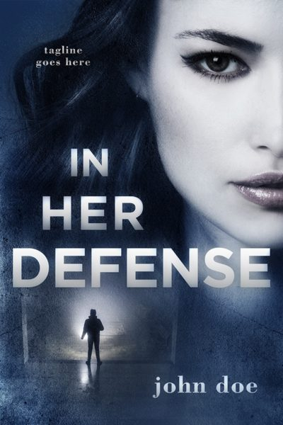 suspense premade book cover