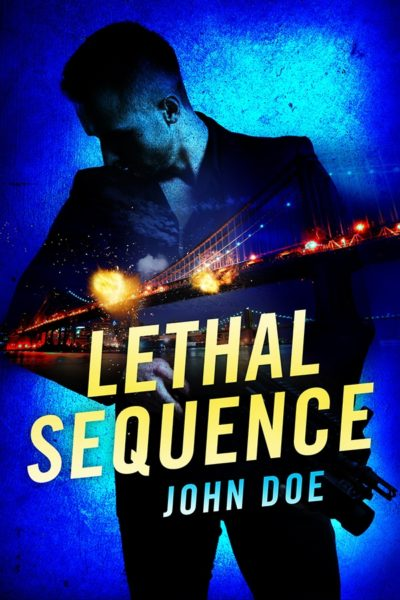 premade action thriller book cover