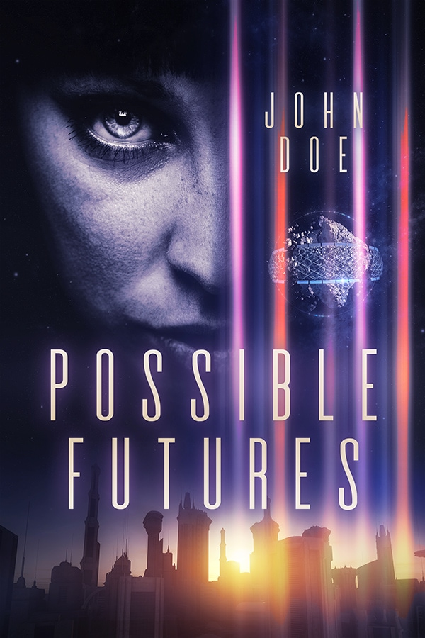 premade scifi book cover for sale