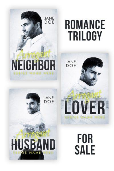 romance book cover series